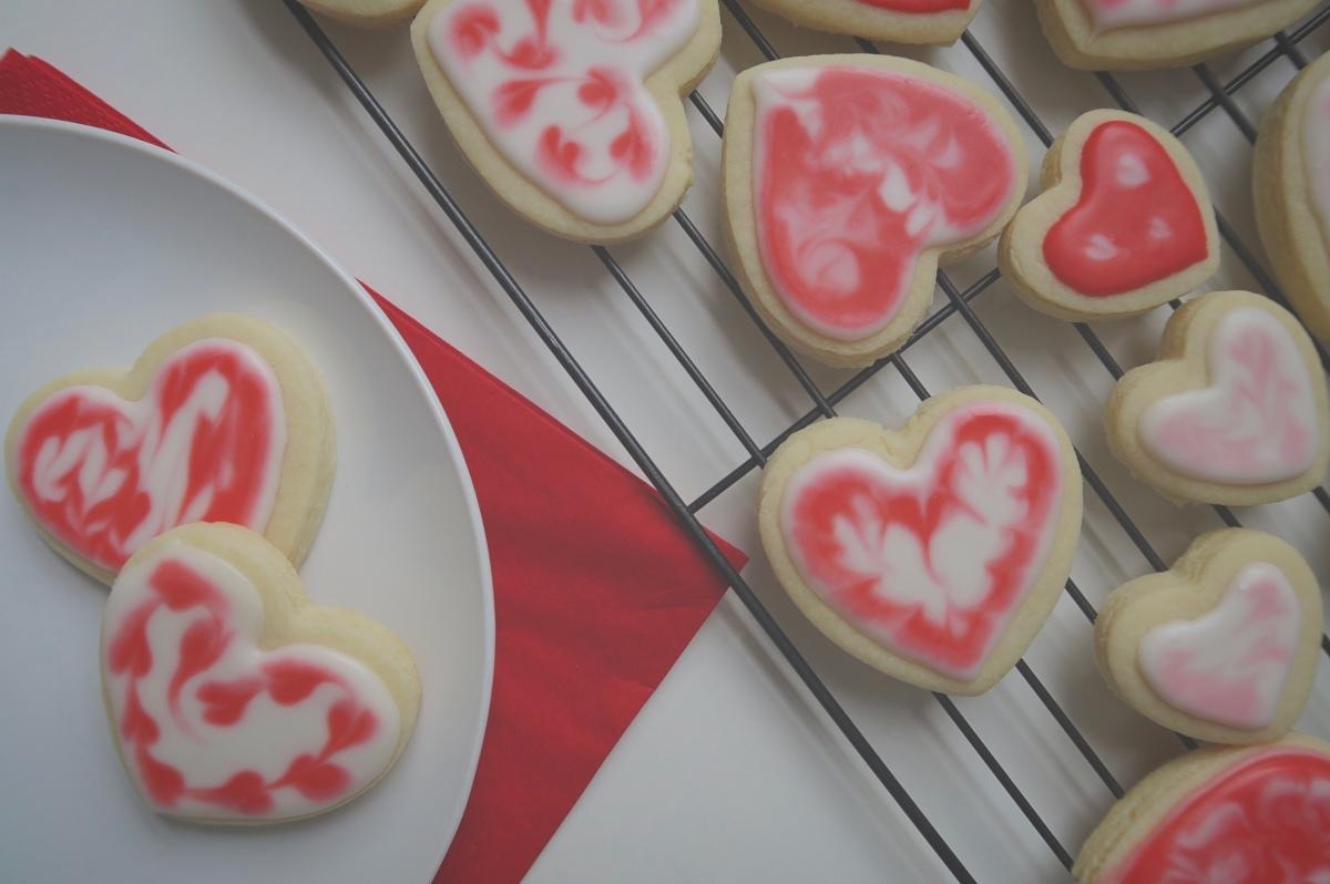 Biscuits cœur de la Saint-Valentin 💖