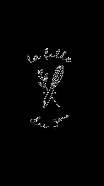Nouveau logo La fille du 3ème